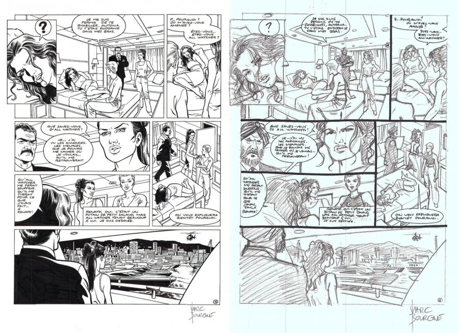 I.R.S. ALLWATCHER Issue 5 original page 16 sold with its StoryBoard