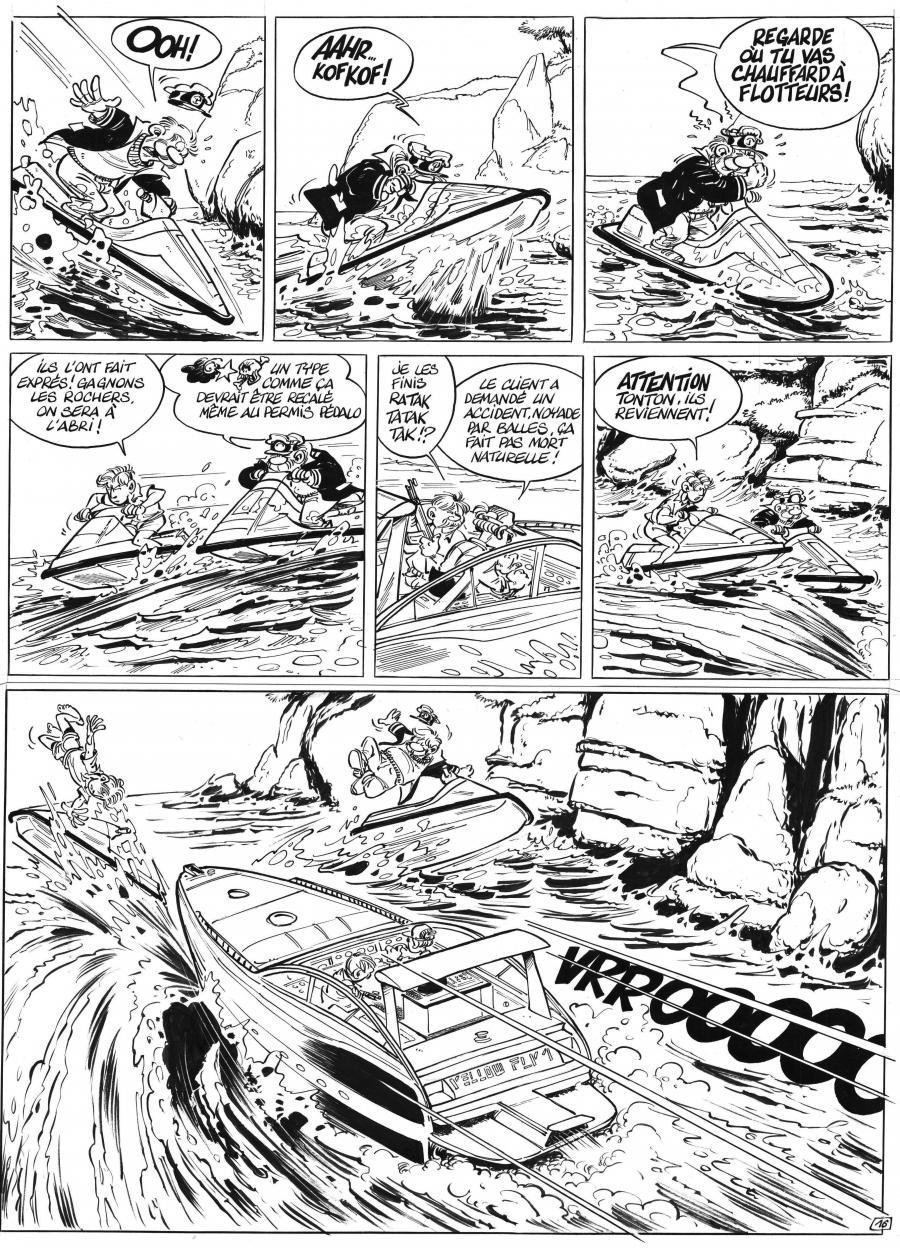 new arrival dcf24 8c1c6 Comics illustration: CARRÈRE Serge - LEO LODEN - Original ...
