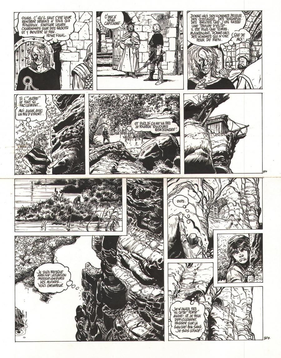 Original page 20 of HYPERION by FRANZ
