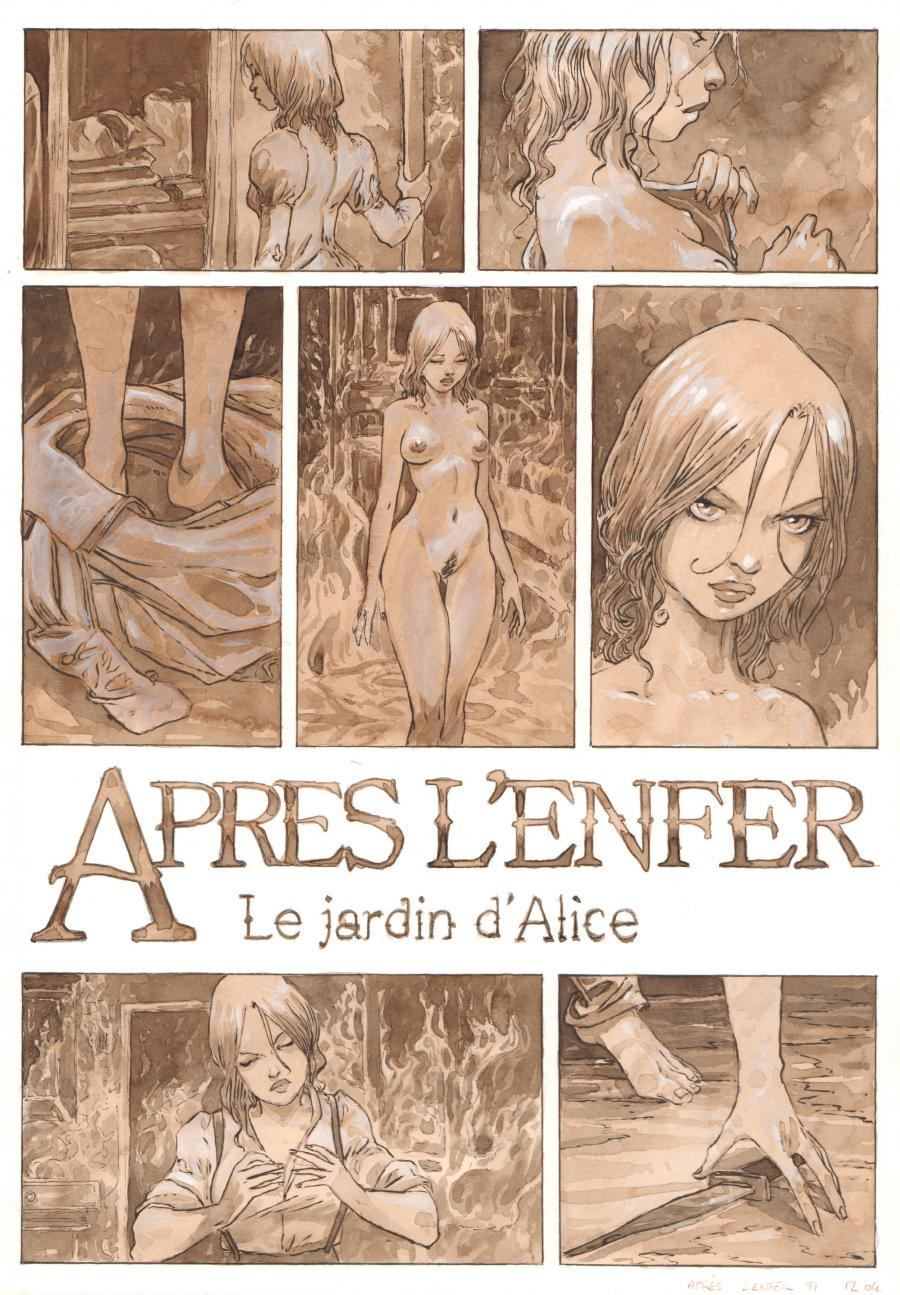 Original page 4 from issue 1 of Après l'enfer - by Fabrice MEDDOUR