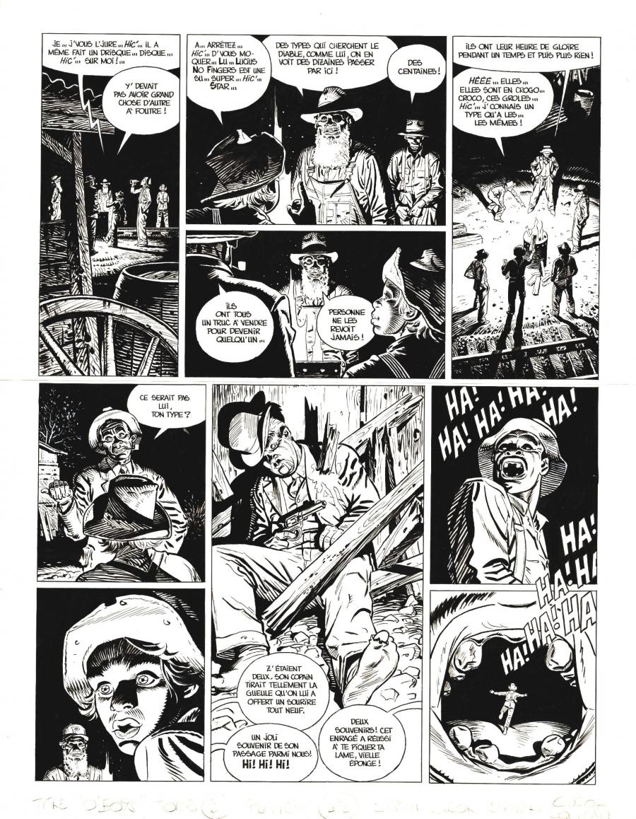 Original comic page 42 from O'BOYS Issue 3 - Midnight Crossroad par Steve CUZOR