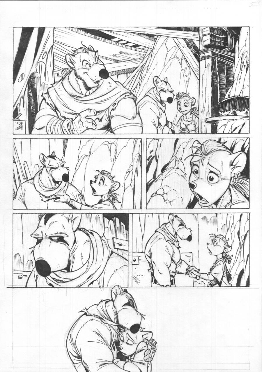 SOLO Original comic's page 62 Issue 2 by Oscar MARTIN