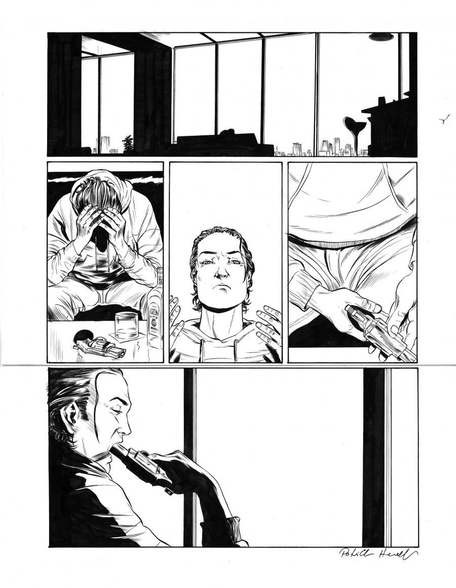 Original comic page 53  Issue 2 by Patrick Henaff