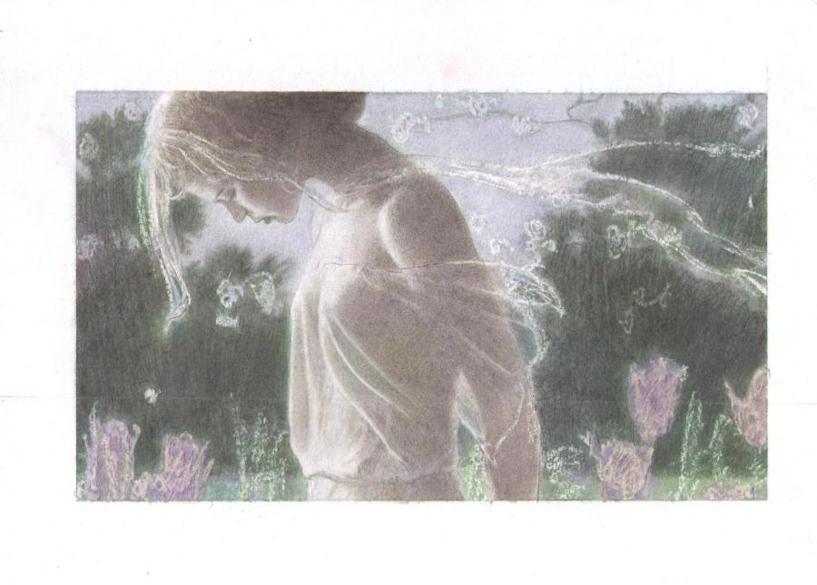 ARINOUCHKINE's original illustration : Sheer in wind