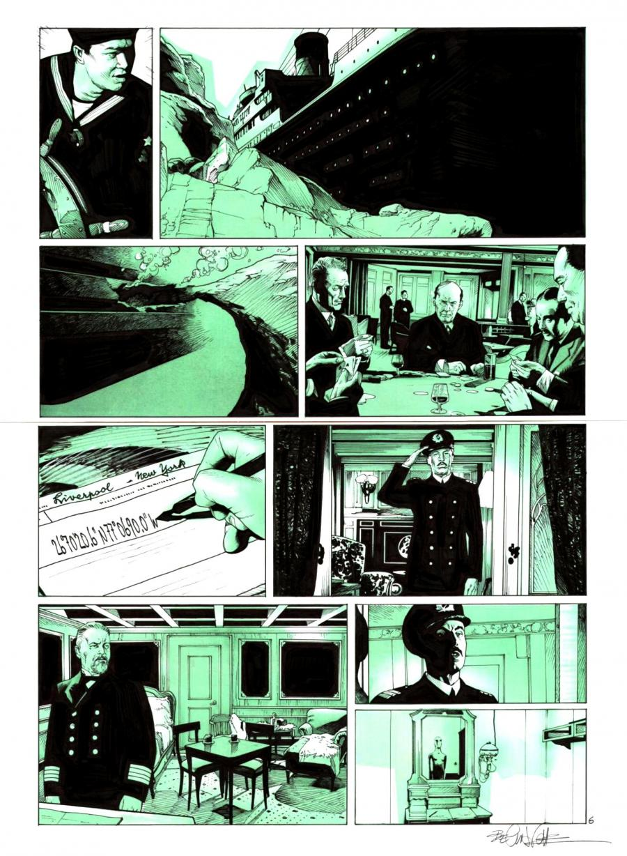 PROMETHEE issue 4 original comic page 6