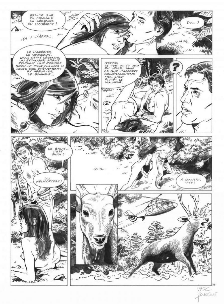 Original page 29 of FRANK LINCOLN issue 5. Kusu-Gun
