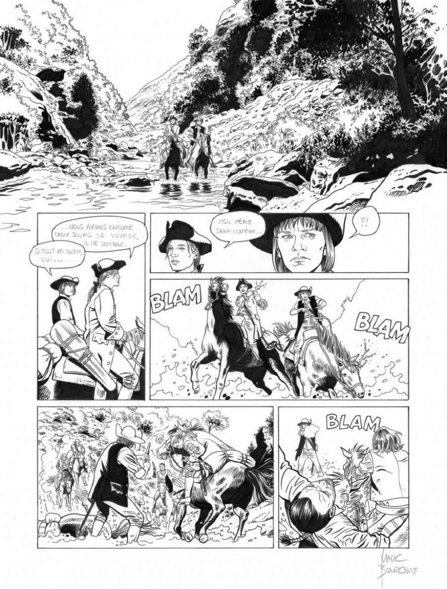 Original page 15 of L'ART DU CRIME issue 7. La mélodie d'Ostelinda