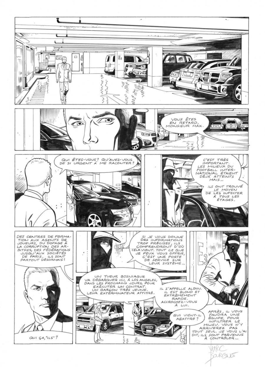 I.R.S.TEAM Issue 1 original page 1