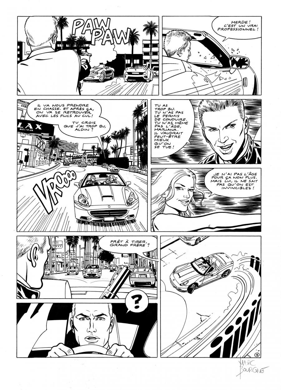 I.R.S.TEAM Issue 1 original page 16