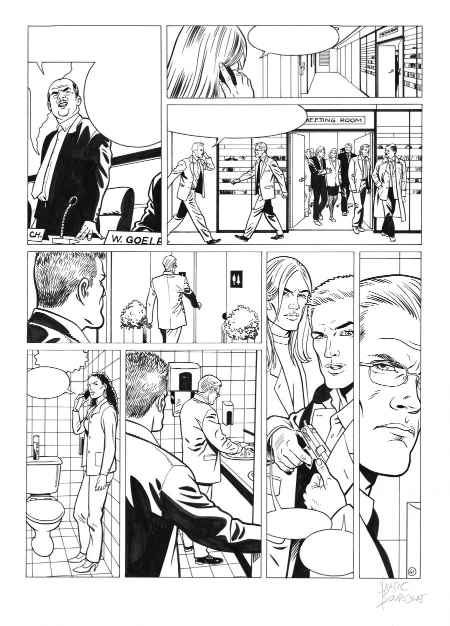 I.R.S.TEAM Issue 1 original page 41