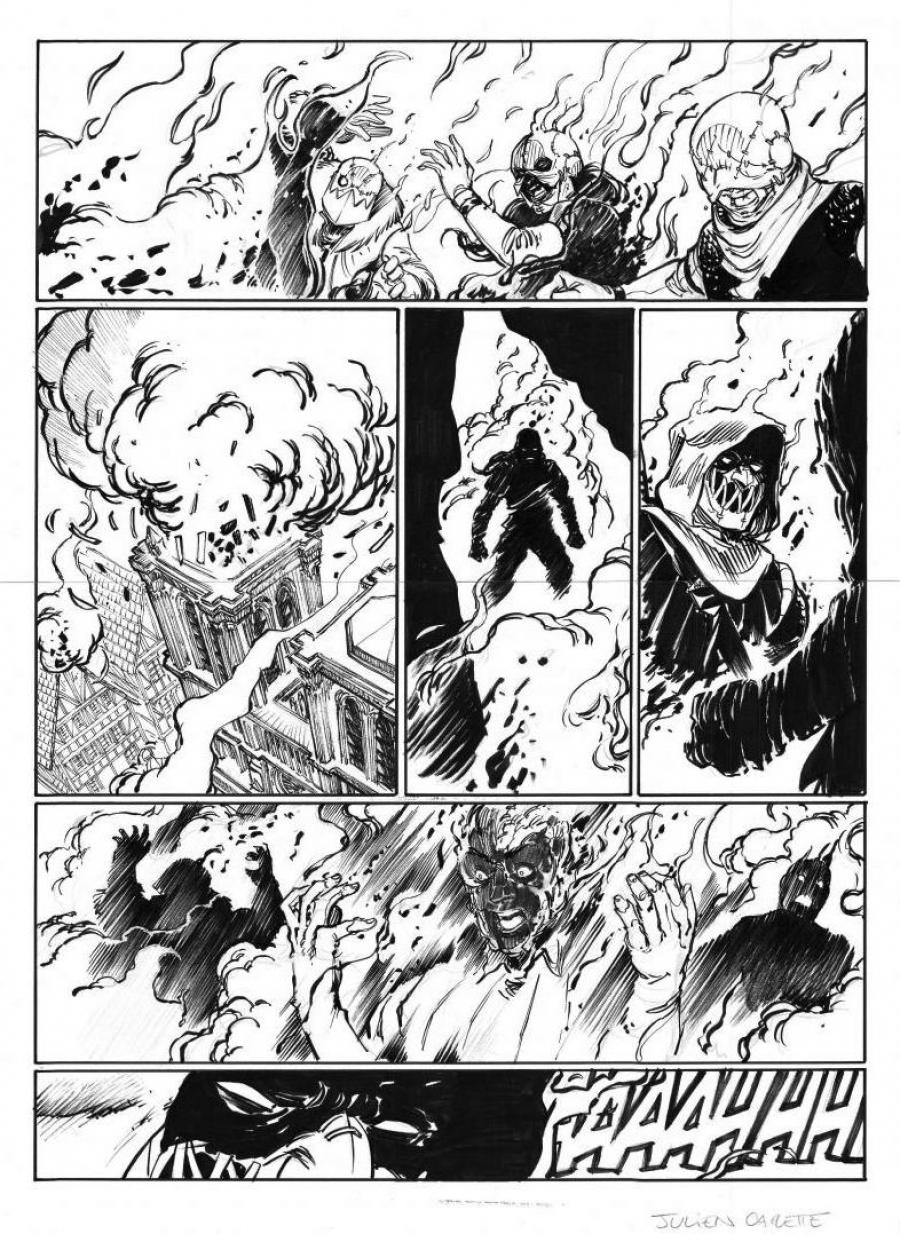 Original Comics illustration, Napoleon Gallery : LE BOURREAU - Original page 49 of LE BOURREAU issue 3 by Julien CARETTE - 49