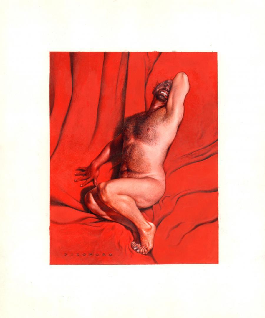 Original cover of  from EN MÂLES DE NUS