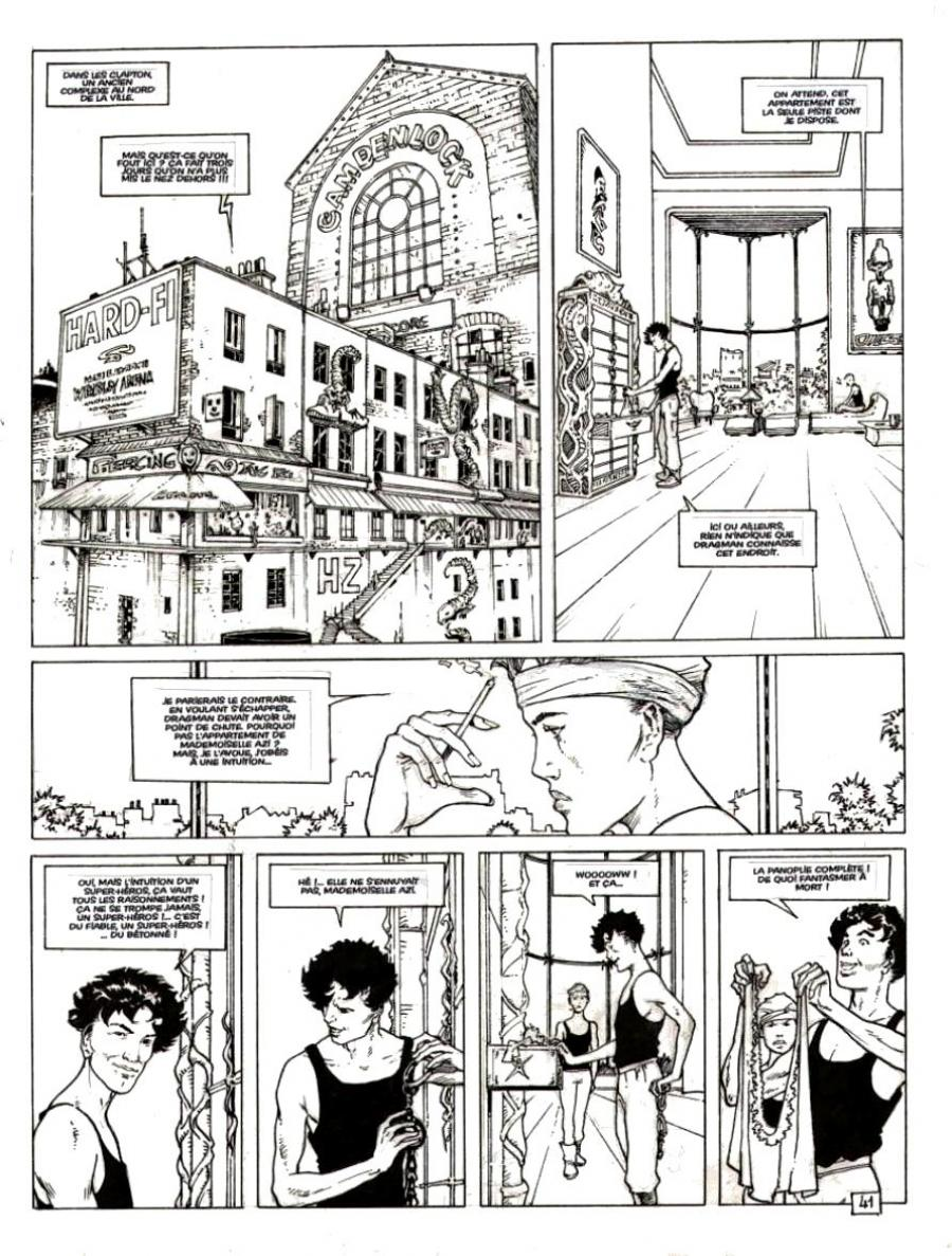 DAKOTA - planche originale 41 - Tome 1
