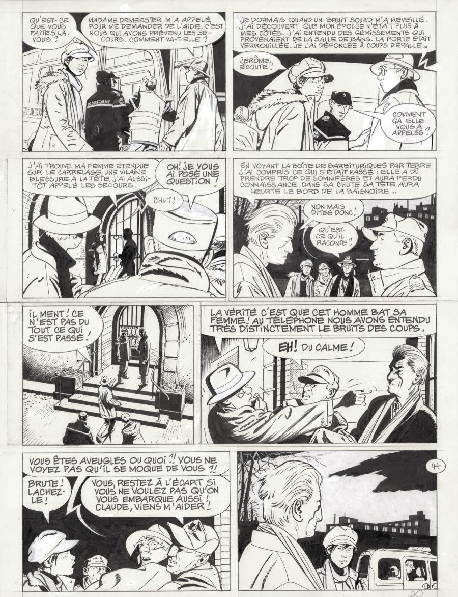 Original page 44 JEROME K. JEROME BLOCHE issue 26 by DODIER