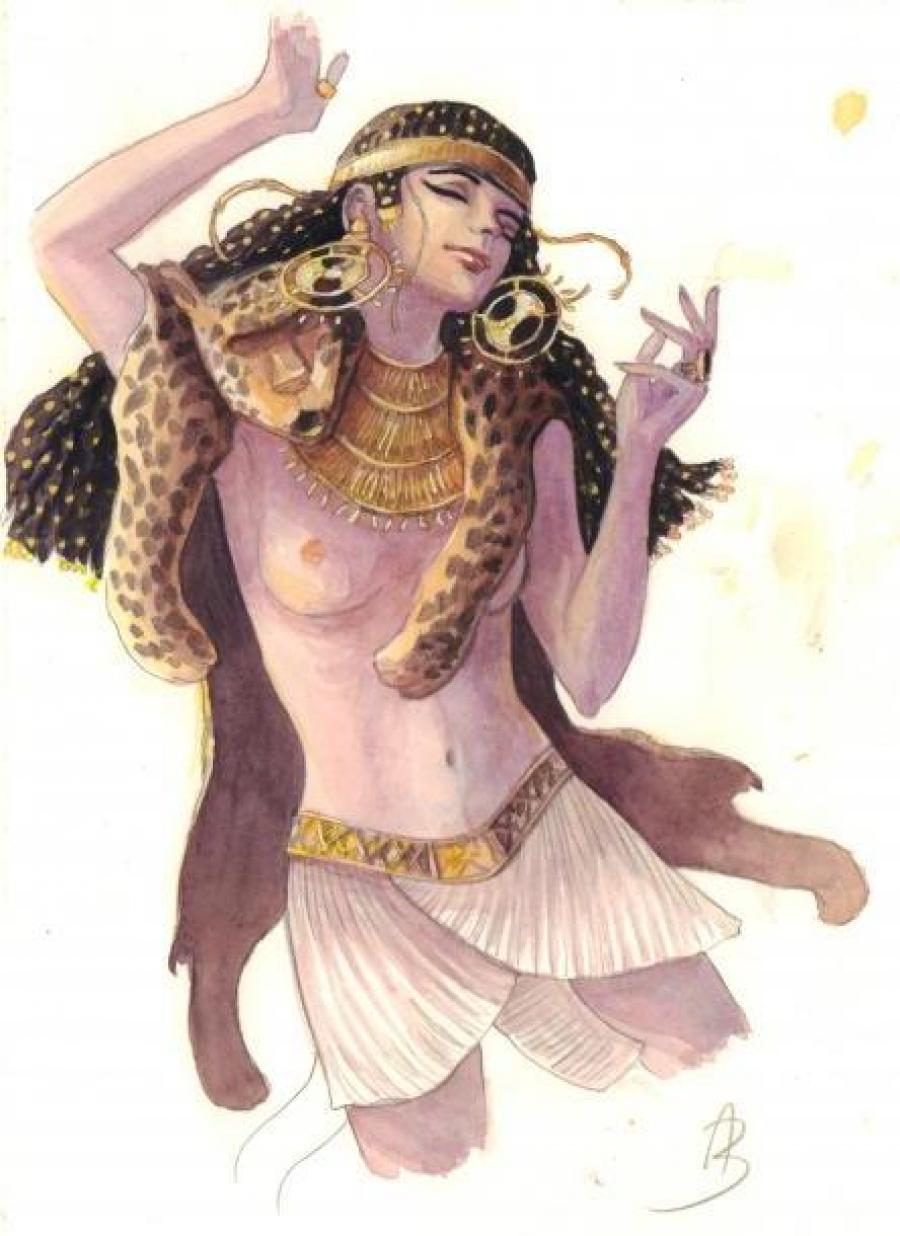 Dessin original bd sasmira illustration originale en - Planche a decouper originale ...