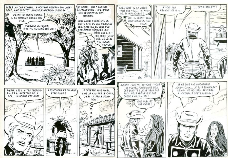 RAWHIDE KID The manhunt pages 9 and 10