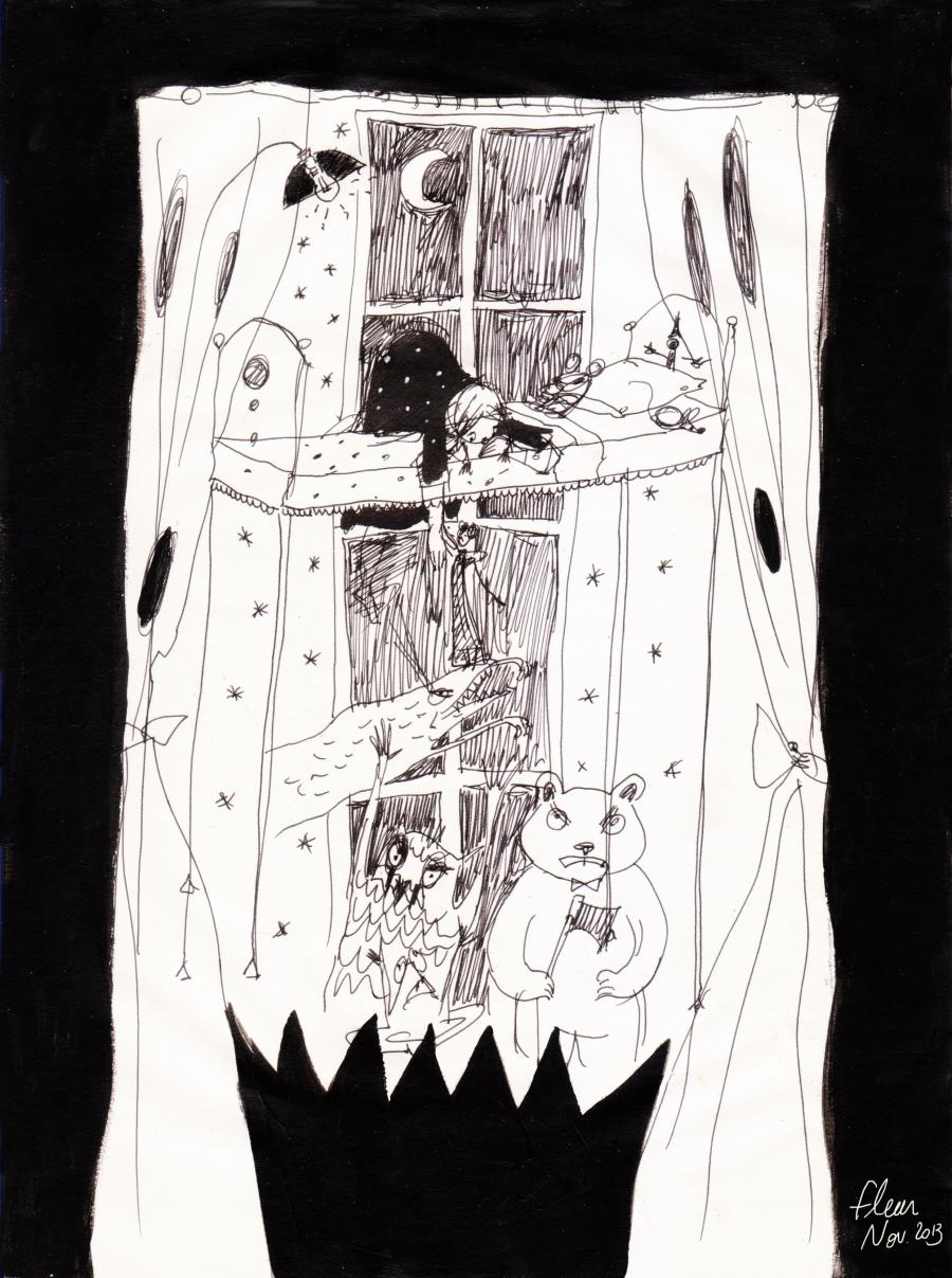 Comics illustration, Napoleon Gallery : miscellaneous - Original illustration art by Fleur CLAIREUX -