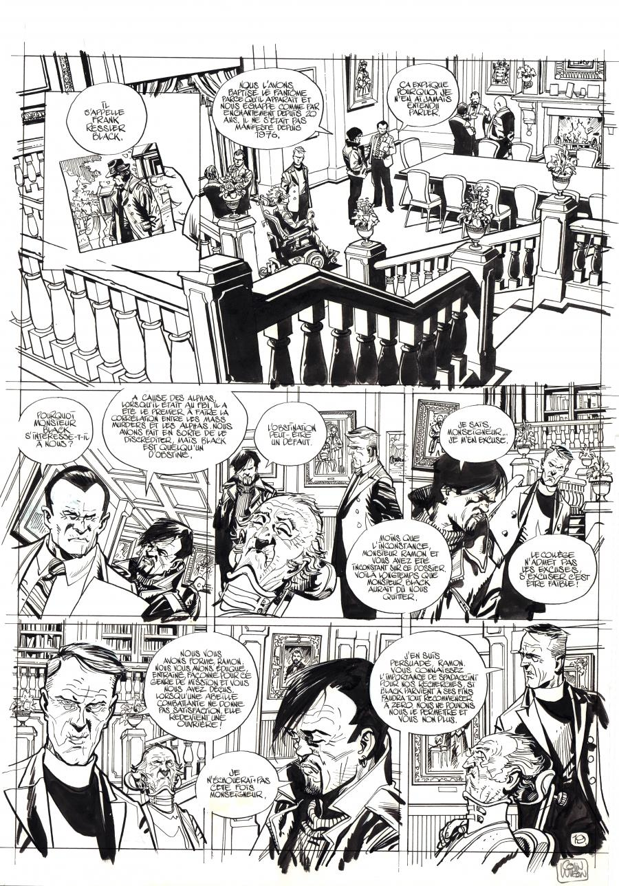 Original comic page 19 from WONDERBALL issue 2 by Colin WILSON