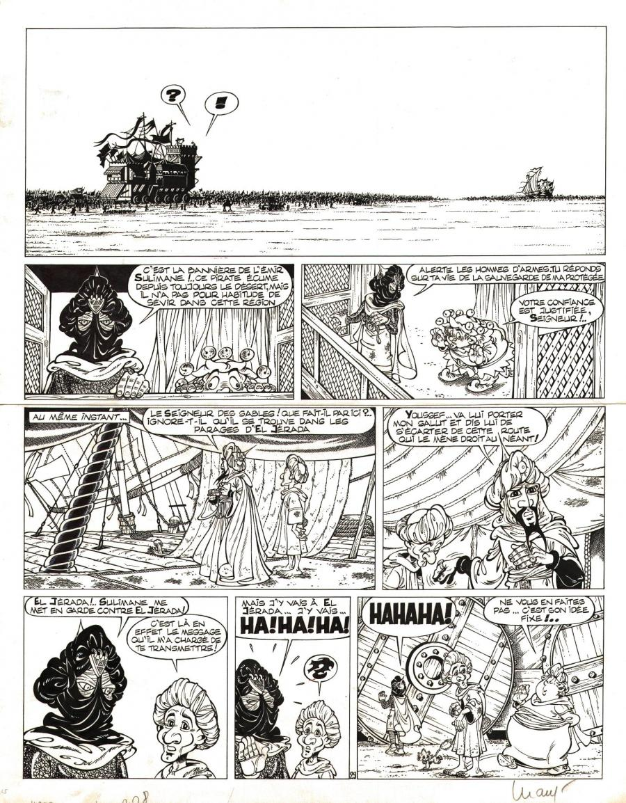 PERCEVAN's comic art 29 issue 5 by LUGUY