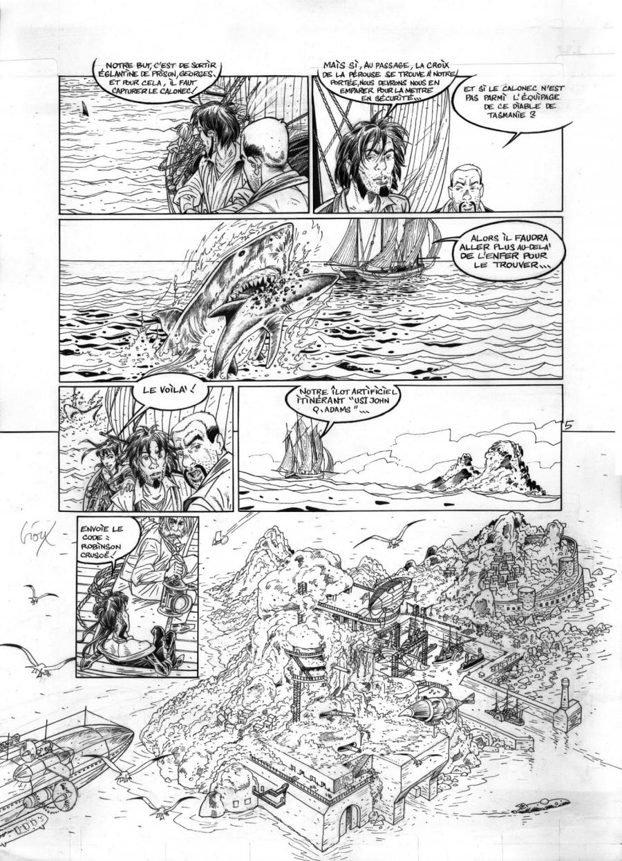 Hauteville House comic series issue 7 original comic page 5