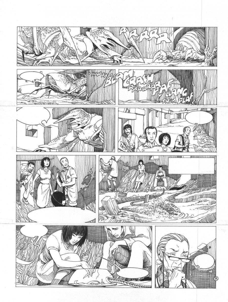 Original page 39 of TERRES LOINTAINES issue 1 by ICAR