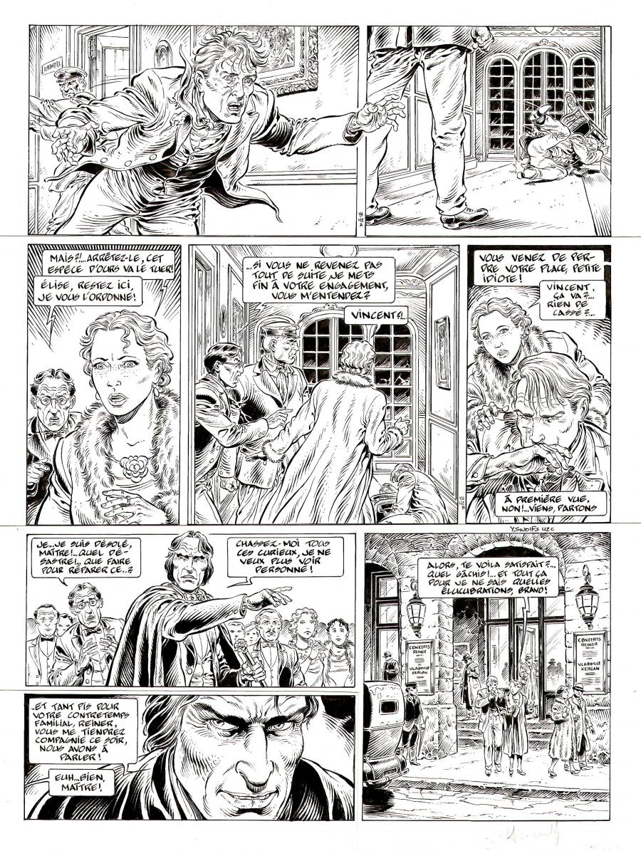 Original page 42 from LE PRINCE DE LA NUIT, by SWOLFS