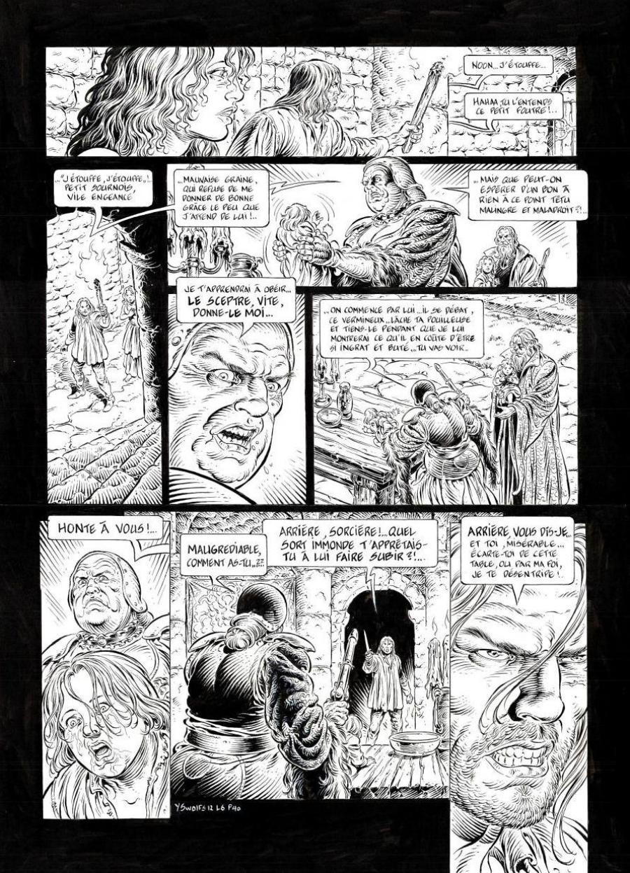 Original page 40 LEGENDE Tome 6 The secret of the Eiles