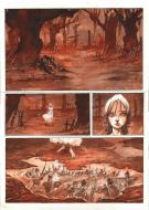 Original page 1 from issue 1 of Après l'enfer - by Fabrice MEDDOUR