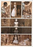 MARTIN MILAN original comic page (water color and china ink)
