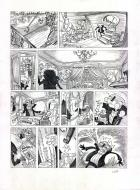 Planches Originales de GOM (le coloriste de SPOON AND WHITE) projet BD.