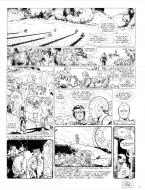 Original comic page 25 from Dans l'ombre du soleil, issue 1 Rael by Colin Wilson