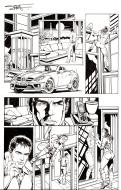 Original comic page 9 from Le Garde Républicain, Issue 1 by TERRY STILLBORN