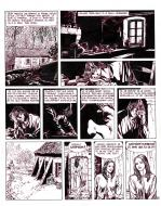 Pierre MAKYO's original comic art GRIMION LEATHER GLOVE original page 25.