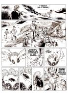 Pierre MAKYO's original comic art THE STORY OF EVERY DAY original page 41.