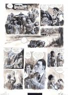 FOLLET's original comic art from L'AFFAIRE DOMINICI original comic page 41