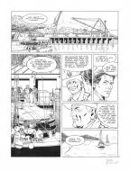 Original page 29 of FRANK LINCOLN issue 4. Kodiak, by Marc BOURGNE