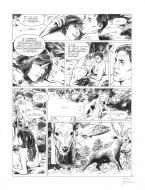 Bande Dessinée : Original page 29 of FRANK LINCOLN issue 5. Kusu-Gun, by Marc BOURGNE
