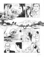 Original page 30 of FRANK LINCOLN issue 5. Kusu-Gun, by Marc BOURGNE