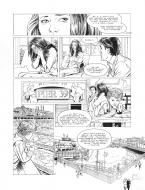 Original page 39 of FRANK LINCOLN issue 5. Kusu-Gun, by Marc BOURGNE