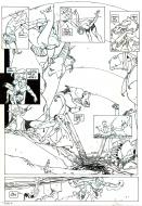 Original comic page 19 from FINKEL Issue 7 - Corruption par Christian GINE