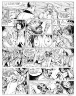 BLUEBERRY the youth original comic page 24 by BLANC DUMONT