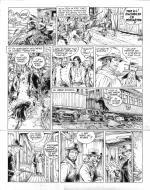 Original comic art 35 of BlueBerry (the youth of) issue 13: Il faut tuer Lincoln