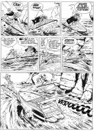 Original comic art 16 of LEO LODEN issue 3 by Serge CARRERE