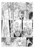Original comic page 21 of Je suis Cathare issue 3 by CALORE
