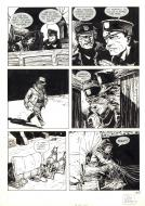 Original comic page 107 from TEX issue 3 Colin WILSON