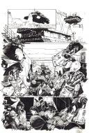 Original comic page from 2000AD: Prog 1159 issue 2 War Games by Colin WILSON