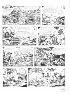 Planche BD Originale, galerie Napoléon  : JOE BAR TEAM - Planche originale 38 de JOE BAR TEAM Tome 6 par FANE - 38