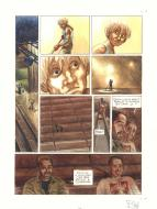 Original comic page 48 from EXAUCE NOUS by Frederic BIHEL