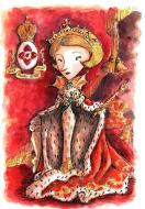 Original comic illustration ''La Reine de Tauride'' by Alban GUILLEMOIS