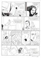 Original comic page 20 of HEDGE FUND Issue 5 -  Mort au comptant  by Patrick HENAFF